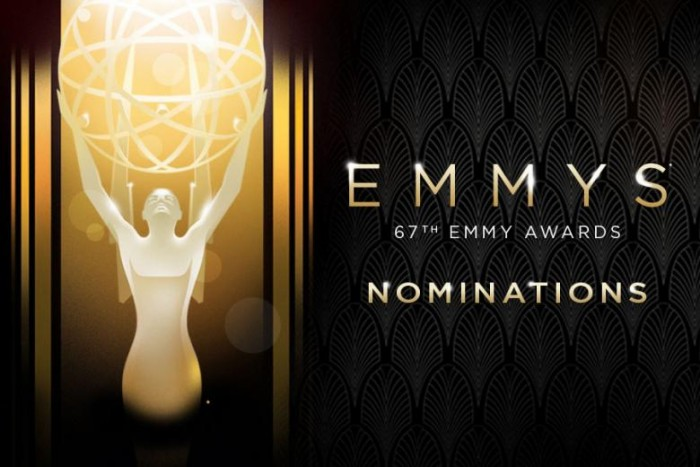 第67届美国电视艾美奖(Emmys)提名名单出炉