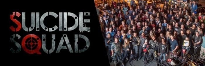 《自杀小队》(Suicide Squad)前期拍摄全面杀青 导演曝剧组集体大合影