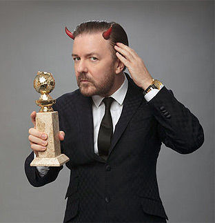 瑞奇·热维斯(Ricky Gervais)再次主持金球奖