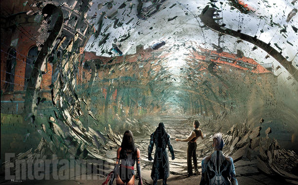 "《X战警:天启》(X-Men: Apocalypse)概念艺术:""万磁王""开挂"