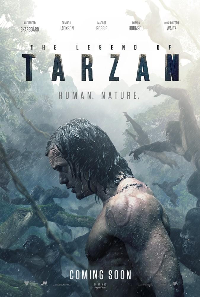 《泰山归来:人猿大战》(The Legend of Tarzan)预告片#2 【中文字幕】