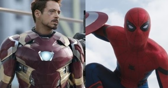SpiderManHomecomingIronMan