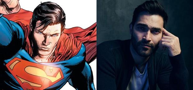 泰勒·霍奇林确定出演《女超人》中超人角色  第二季与《闪电侠》交叉