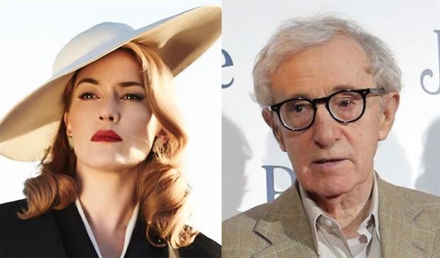 凯特温丝莱特将主演伍迪艾伦新片 影片未定名剧情保密 预计今年秋季开拍