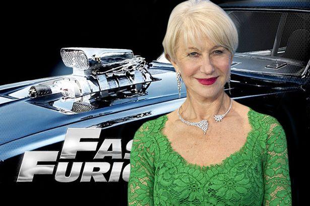"""""""女王""""海伦·米伦(Helen Mirren)加盟《速度与激情8》"""