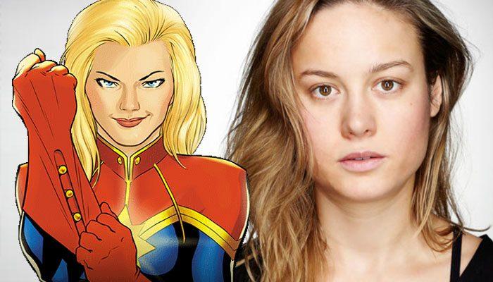 布里·拉尔森(Brie Larson)或将出演《漫威队长》(Captain Marvel)