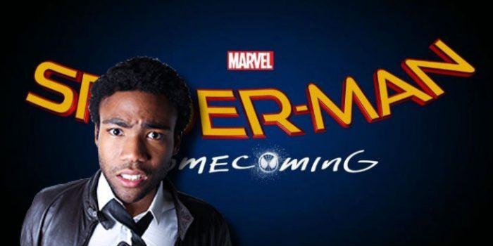 黑人演员唐纳德·格洛弗(Donald Glover)加盟《蜘蛛侠:回家》