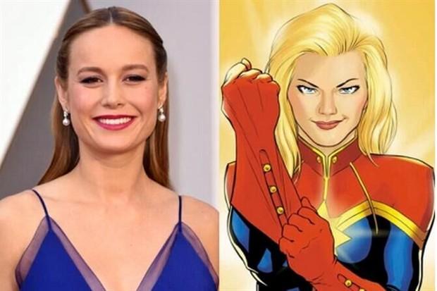 布丽拉尔森确认主演《惊奇队长》 (Captain Marvel)漫威首部超级女英雄电影诞生