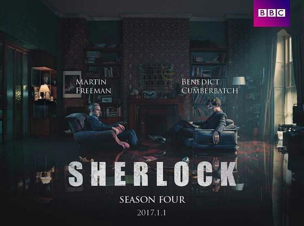 《神探夏洛克》(Sherlock)第四季发全新预告 大反派邪魅现身