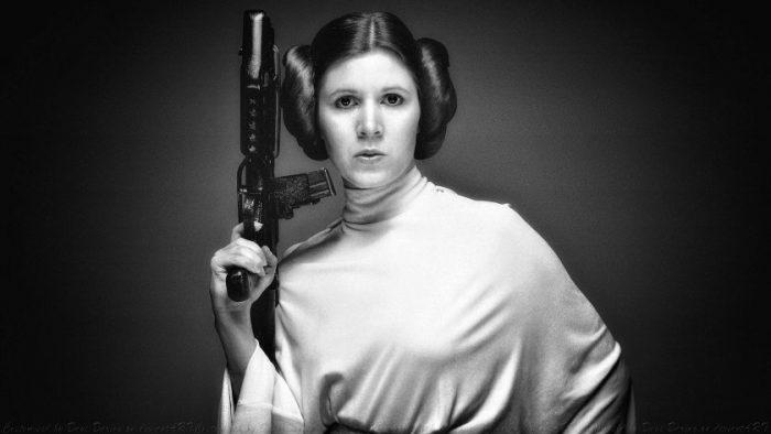 """《星球大战》""""莱娅公主""""凯丽·费雪(Carrie Fisher)因心脏病去世享年60岁"""