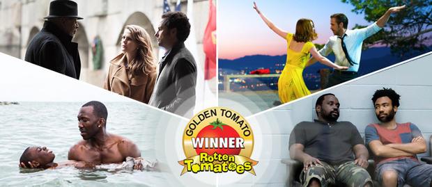 2016金番茄奖大名单出炉 《疯狂动物城》击败《赴汤蹈火》问鼎年度最佳