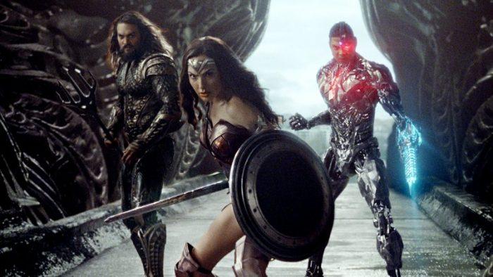 《正义联盟》(Justice League)曝全新剧照 神奇女侠、海王与钢骨组团打怪