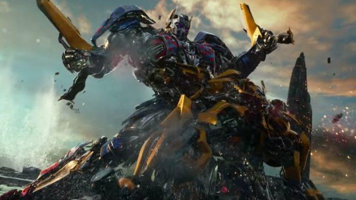 《变形金刚5:最后的骑士》发布全新预告片 擎天柱手撕大黄蜂