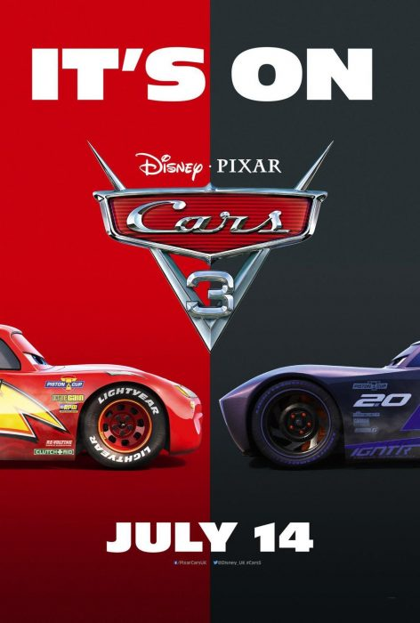 《赛车总动员3》(Cars 3)新预告老司机翻车