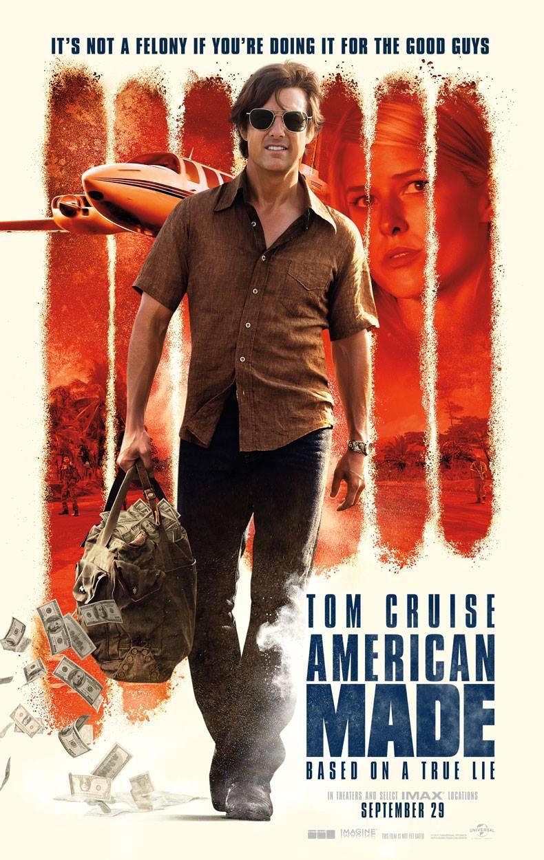 汤姆克鲁斯《美国制造》发首款预告