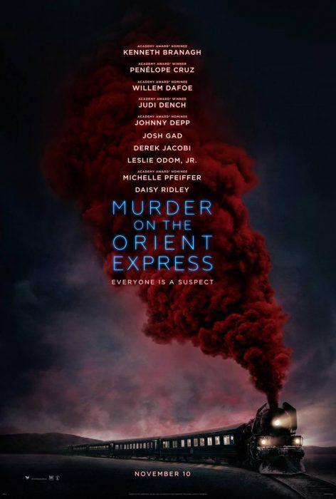 《东方快车谋杀案》(Murder on the Orient Express)首曝中文预告片
