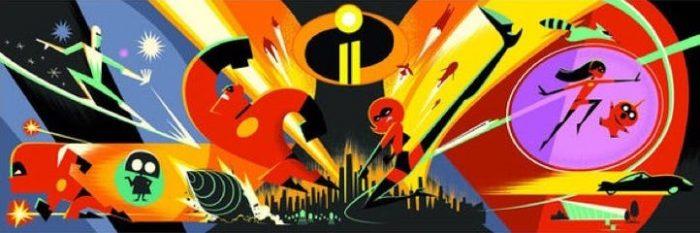 《超人总动员2》曝光宣传图和片名Logo