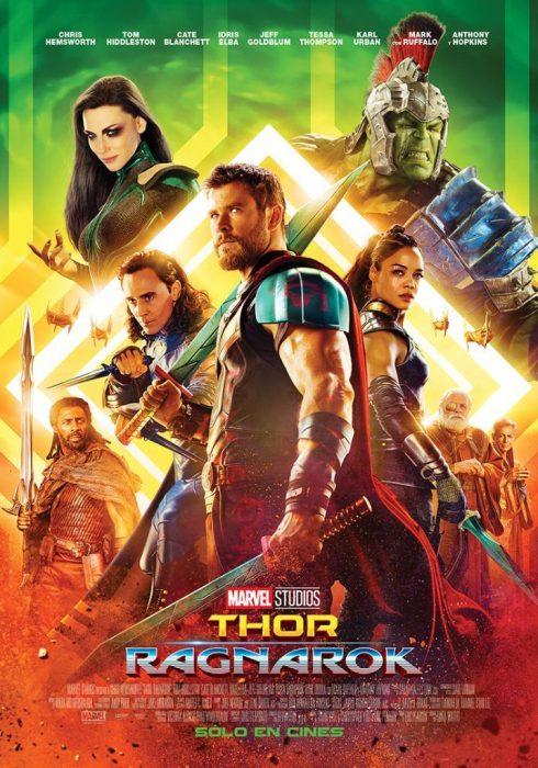 《雷神3:诸神黄昏》(Thor: Ragnarök)发新海报