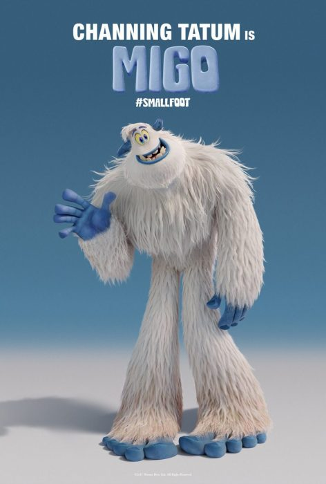 华纳动画片《雪怪大冒险》首发海报