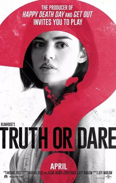 恐怖片《真心话大冒险》(Truth or Dare)曝正式预告