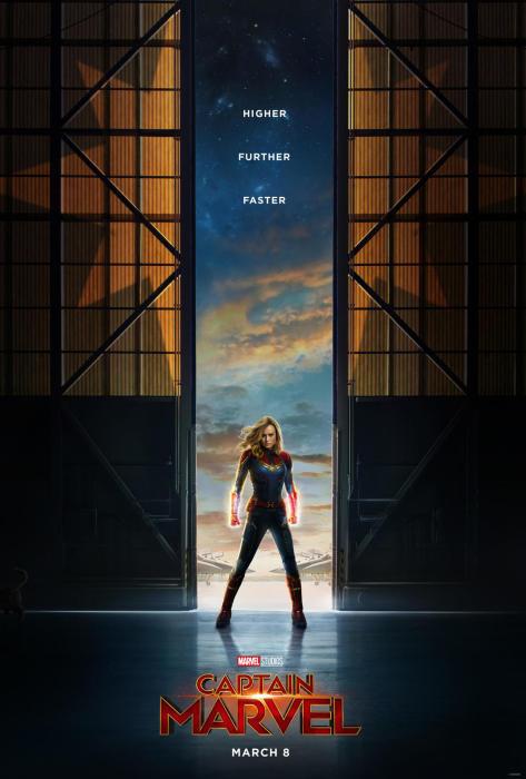 漫威《惊奇队长》(Captain Marvel)发布首个预告