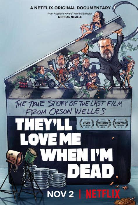 奥逊·威尔斯纪录片首曝中字预告《死时受爱戴》