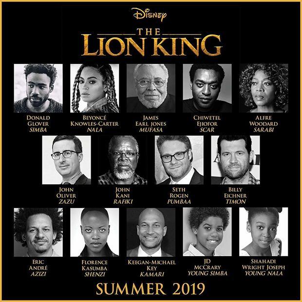 """迪士尼""""真人版""""《狮子王》发布中字预告 王者降临"""