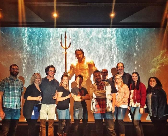 温子仁导演宣布《海王》(Aquaman)后期制作正式完成!