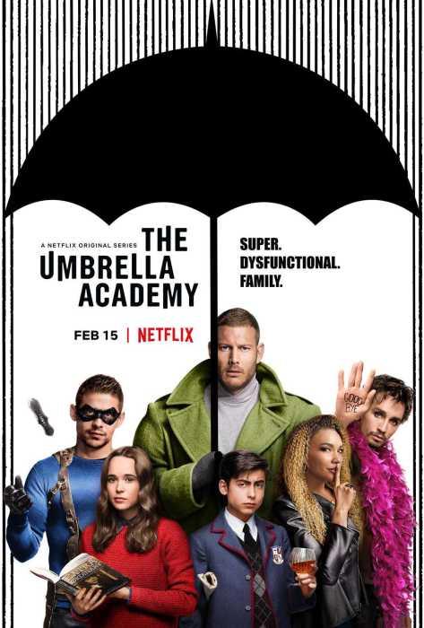 怪诞超英剧集《雨伞学院》(The Umbrella Academy)首曝预告