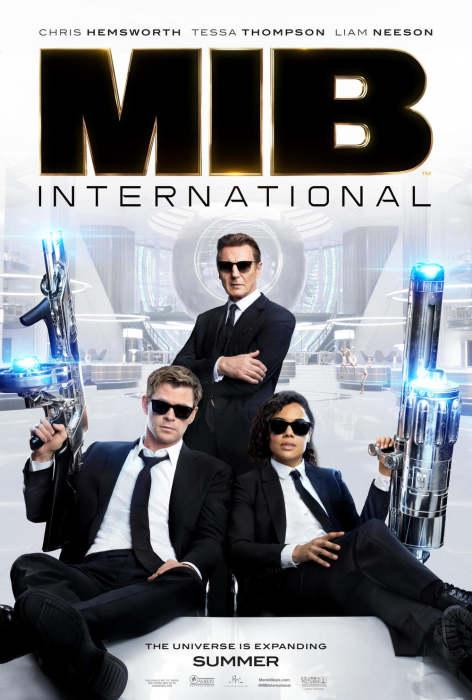 《黑衣人:全球追缉》(Men in Black International)发首款中文预告