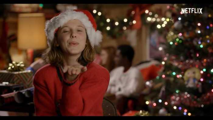 《怪奇物语》上下颠倒的圣诞祝福