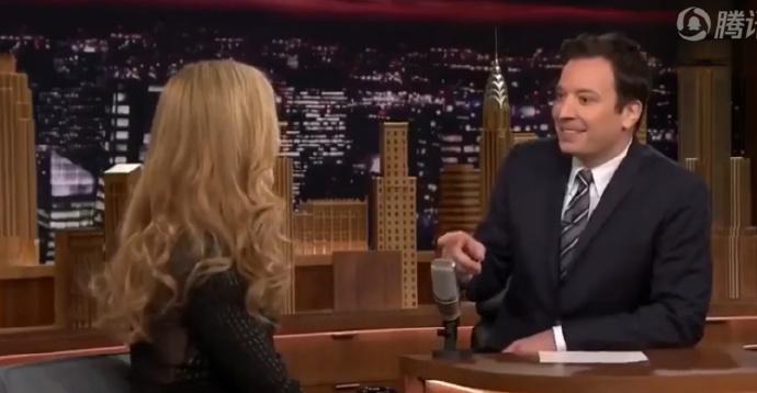 吉米·肥伦(JIMMY FALLON):我曾经错过了 妮可·基德曼