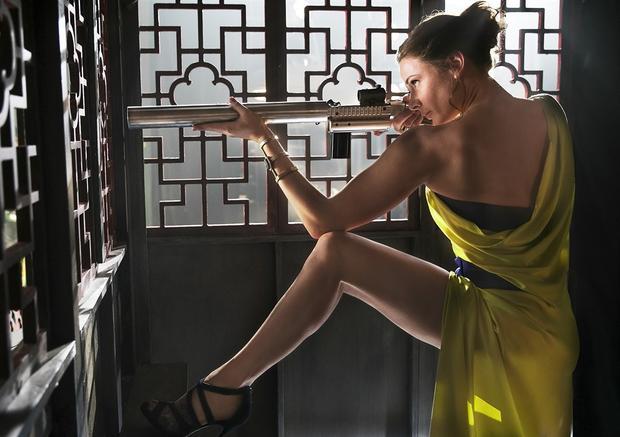 《碟中谍5》这场戏丽贝卡·弗格森的表现可谓惊艳