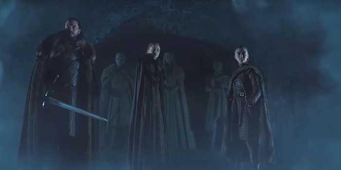 《权力的游戏第八季》前导中文预告,凛冬已至4月14日回归