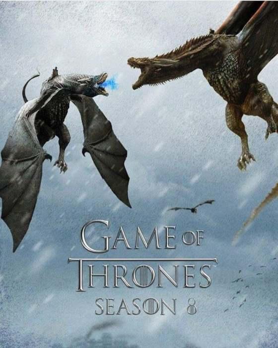 《权力的游戏》第八季最终季发布正式预告  凛冬已至
