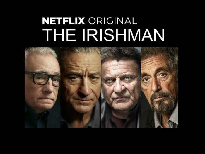 马丁·斯科塞斯《爱尔兰人》(The Irishman)上线日期预告