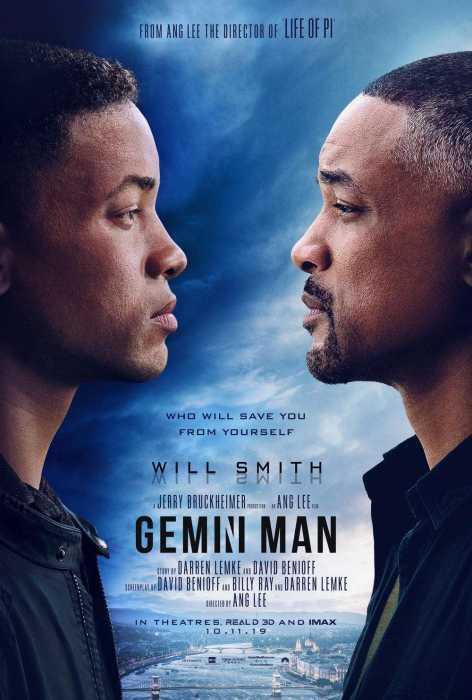李安科幻新作《双子杀手》(Gemini Man)首曝海报预告