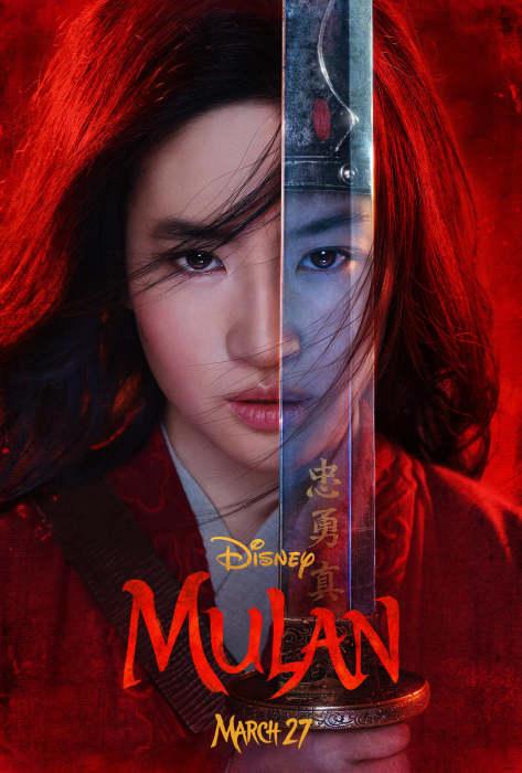 刘亦菲《花木兰》(Mulan)首曝中文预告