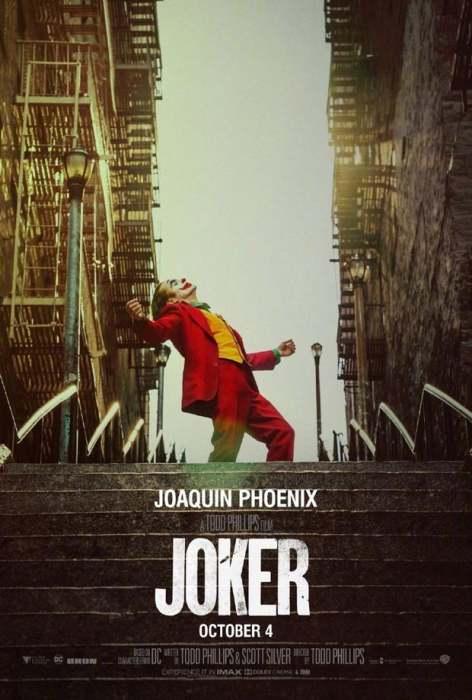 杰昆·菲尼克斯《小丑》(The Joker)曝终极预告&海报