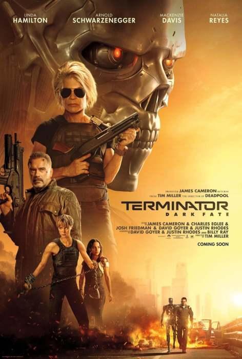 《终结者:黑暗命运》(Terminator: Dark Fate)最新预告
