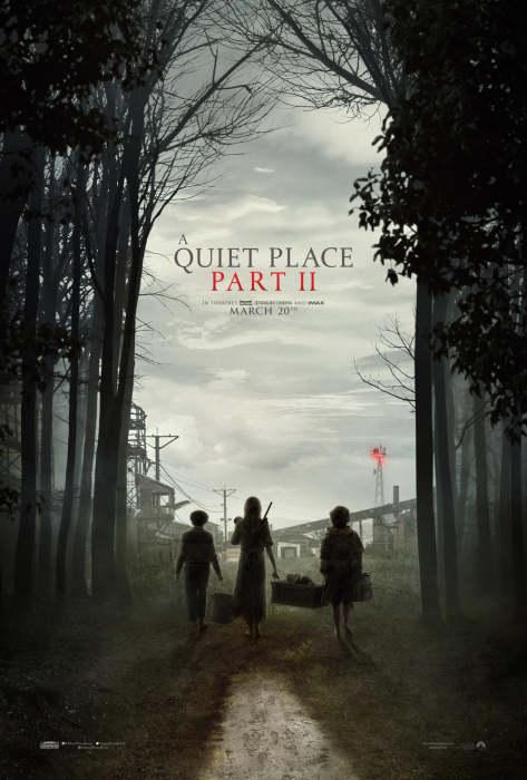 《寂静之地2》(A Quiet Place 2)发布首款预告片&海报