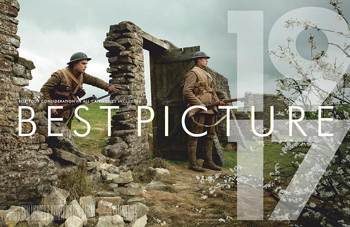 第31届美国制片人工会奖(PGA)揭晓:《1917》夺魁!