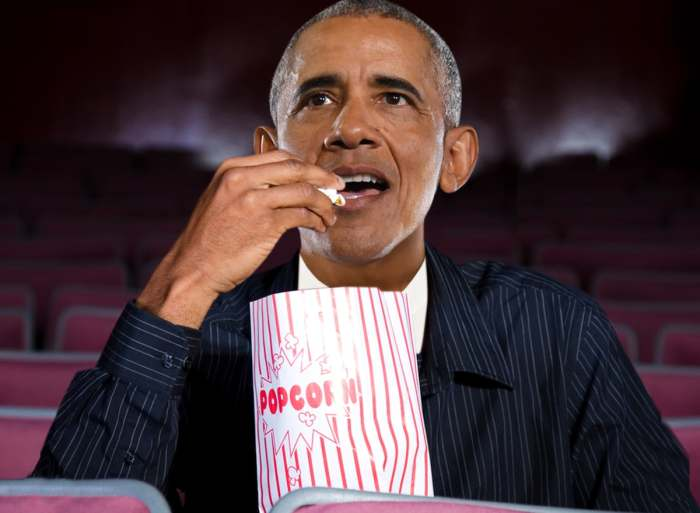 著名影迷奥巴马(Barack Obama)公布私人年度片单