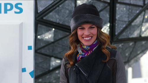 Claire Morgan(斯万克饰)是时代广场新年前夜表演秀的制作人