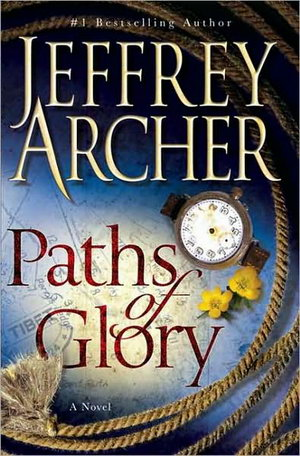 Jeffrey Archer的小说《荣耀之路》(Paths of Glory)封面