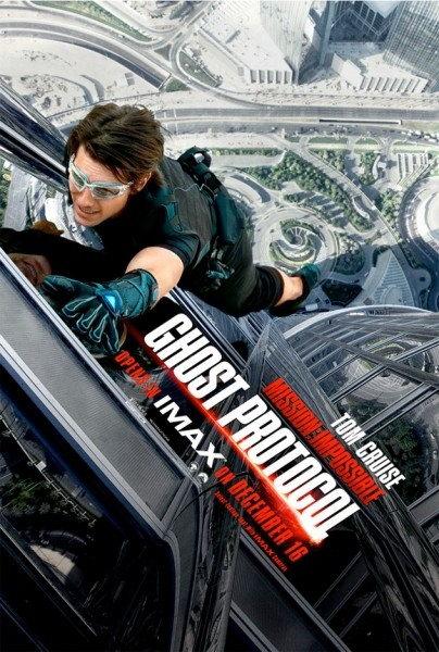 《碟中谍4》IMAX海报 阿汤哥挑战世界第一高塔
