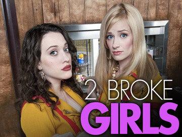 CBS电视台预订新剧《2 Broke Girls》整季