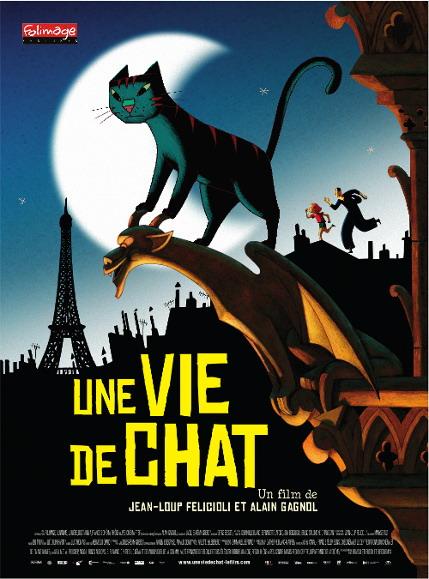 《猫的生活》Une vie de chat