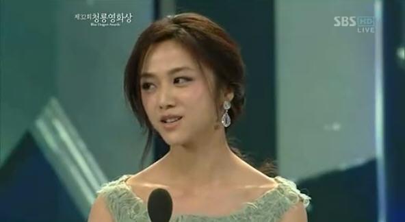 20111125 韩国电影青龙奖 汤唯完整版
