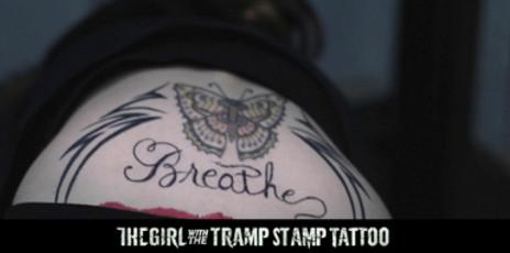 艾玛·罗伯茨恶搞《龙纹身》:屁股沟纹身女孩